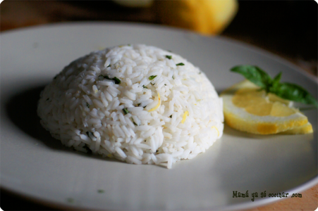 arroz-limon-albahaca