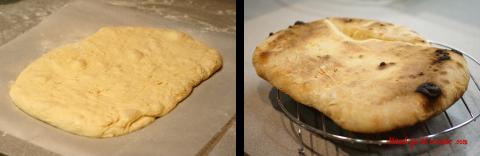 Pizza crujiente y esponjosa sin amasar