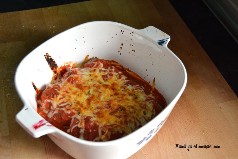 albondigas1 Albóndigas con salsa de tomate