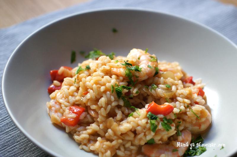 arroz cremoso marisco Arroz cremoso con marisco