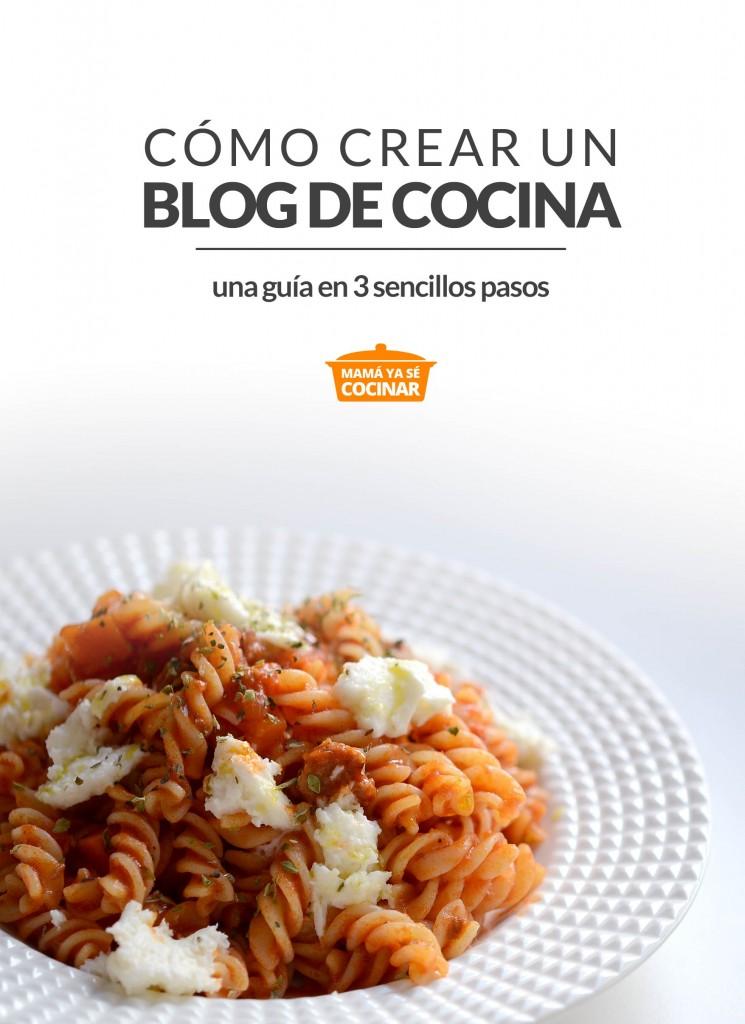 como crear un blog de cocina en 3 sencillos pasos