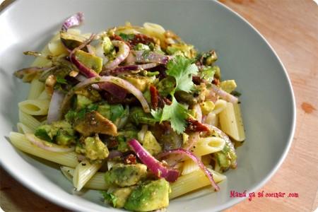 ensalada-pasta-guacamole