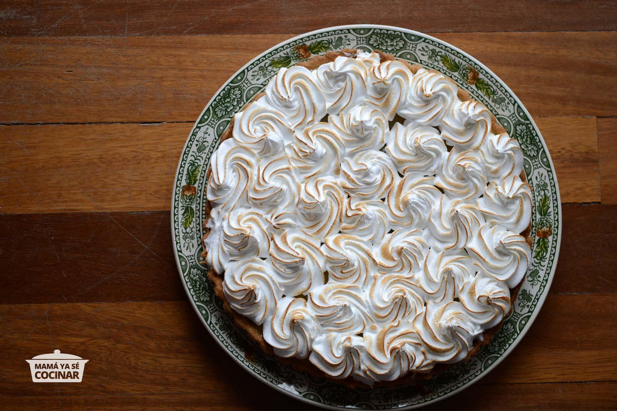 Lemon Pie o Tarta de limón y merengue