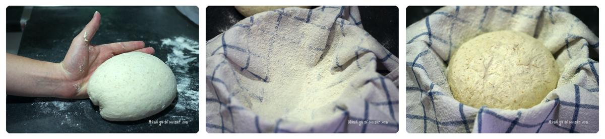 pan8 Hogaza de pan con masa madre