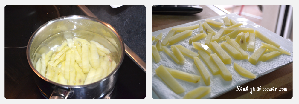 patatas fritas1 3 Trucos para hacer unas patatas fritas crujientes crujientes
