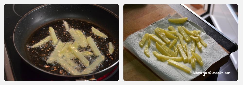 patatas fritas21 3 Trucos para hacer unas patatas fritas crujientes crujientes