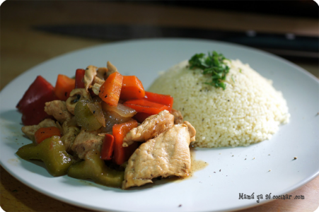 pollo-couscous