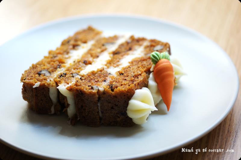 receta facil tarta de zanahoria