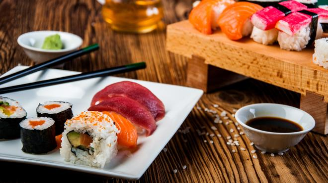 tipos y variedades de sushi