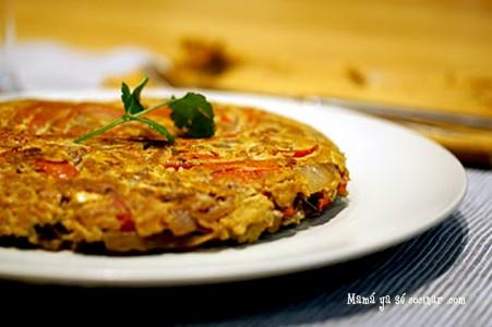 tortilla-pimientos