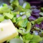 risotto bianco al azafran- sofrito