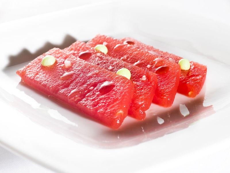 sashimi-sandía